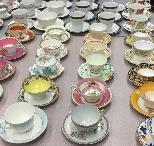 teacups waiting